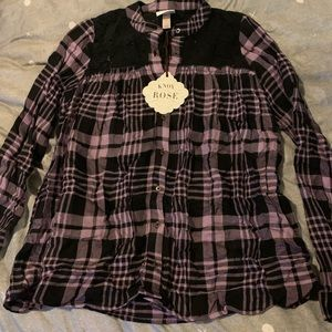 Women's long sleeve top NWT Xs